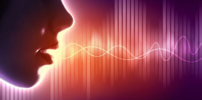 voice audio waves